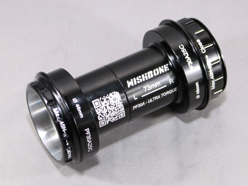 Wishbone PF30A25C Bottom Bracket Image